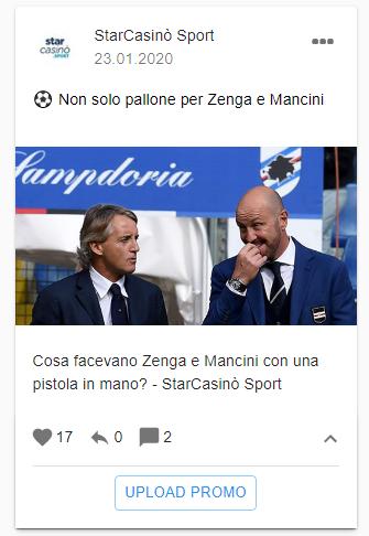 Не только футбол для Зенги и Манчини