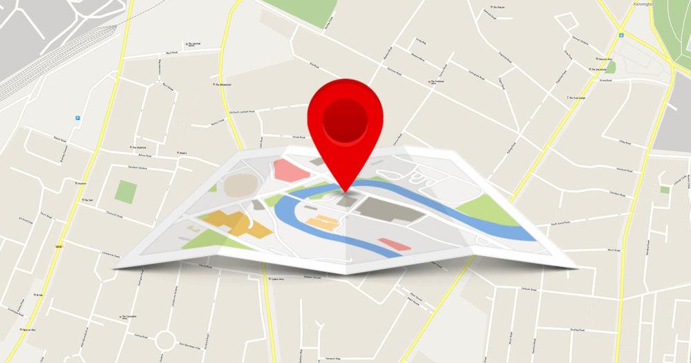 Социальная сеть и черная метка от Google Maps