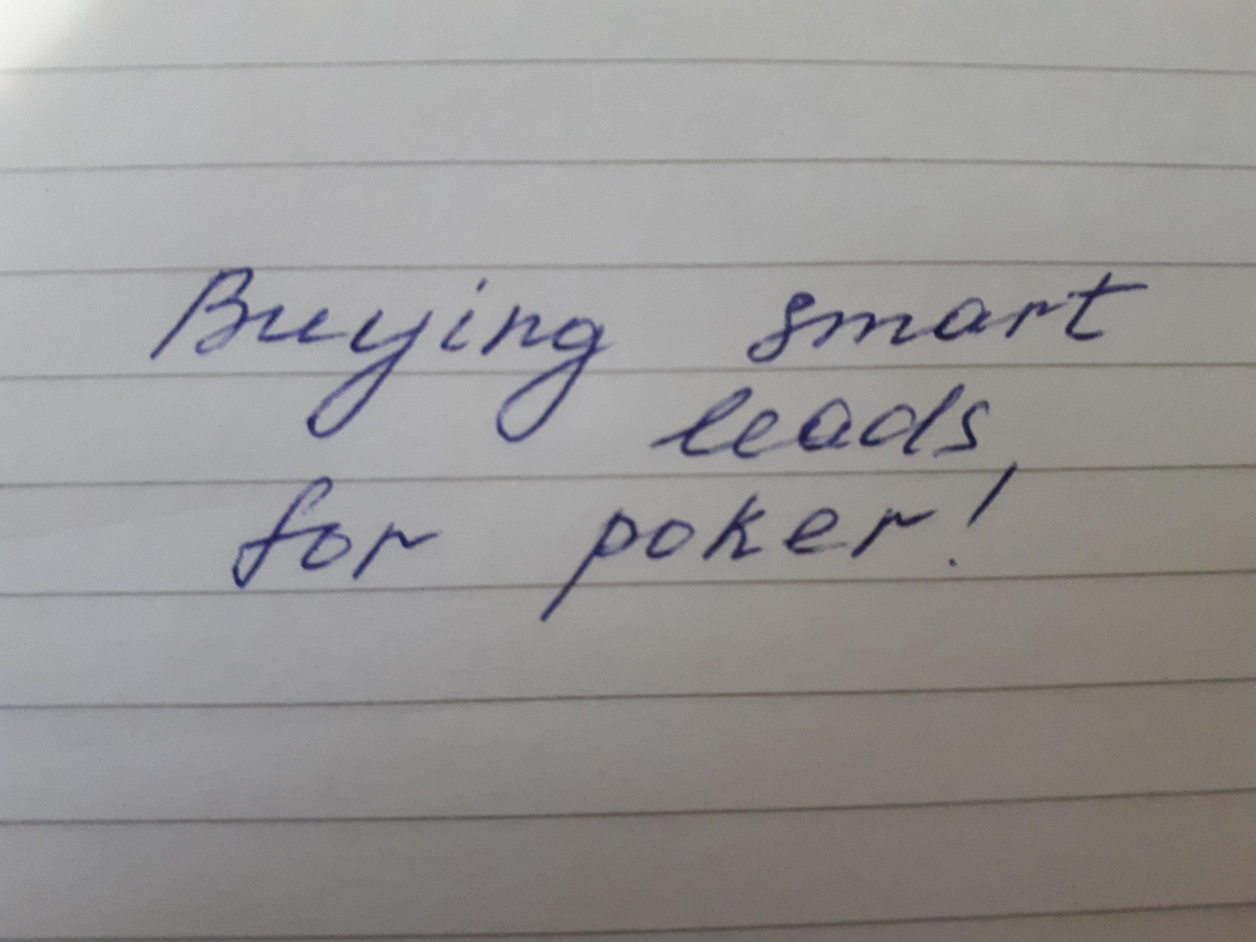 Buying smart leds for poker 3snet