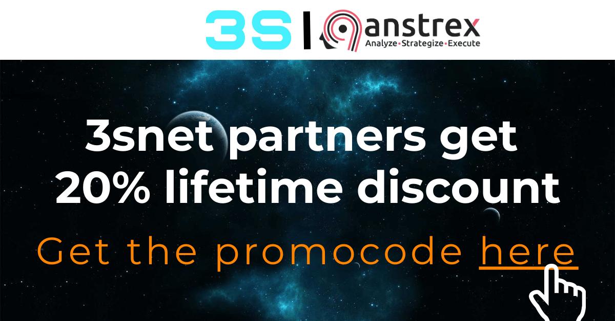 anstrex 3snet promo bonus