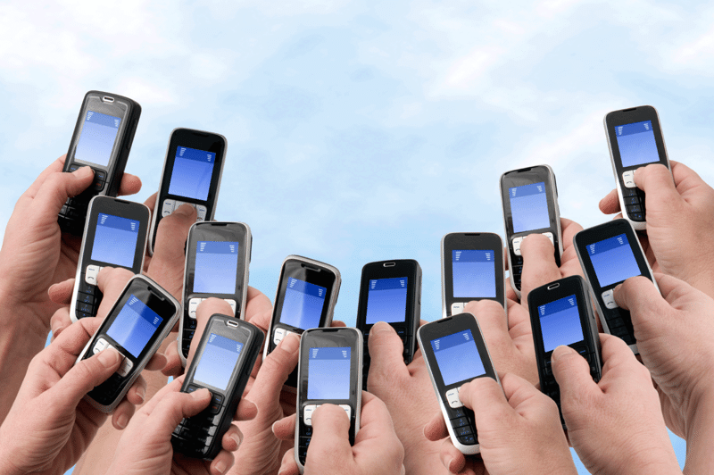advertising in pushbutton phones sms 3snet