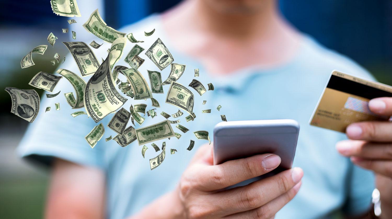 Where do users spend their money?